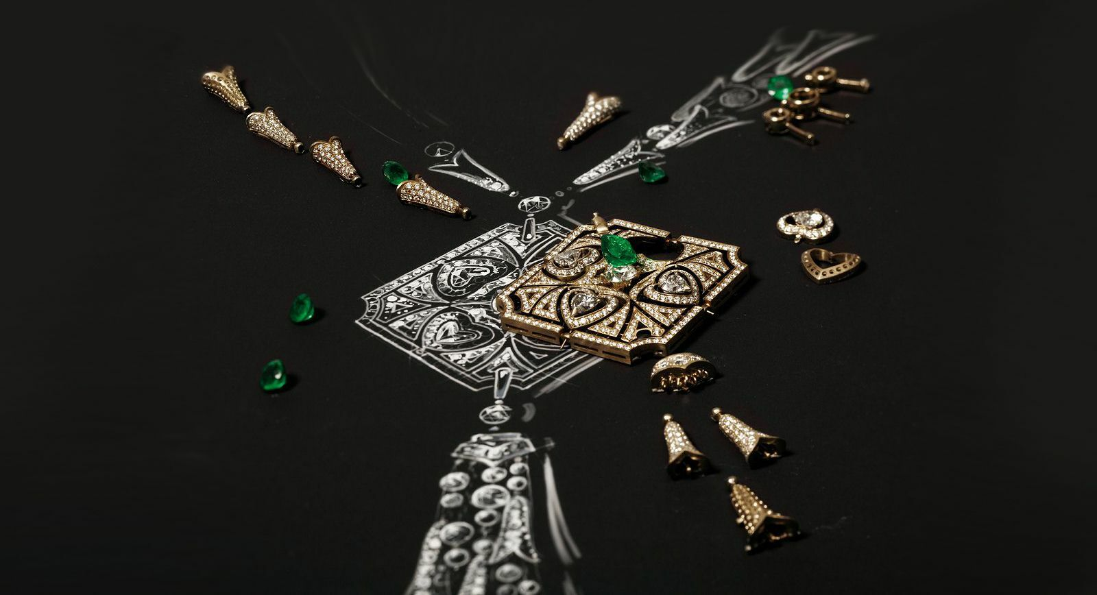 Giardini Italiani By Bulgari: 100 Designs Inspired By Renaissance Landscape Art