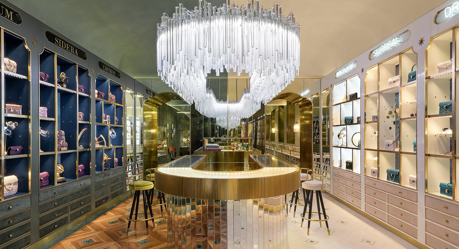 Bulgari: 'New Curiosity Shop' Concept Store