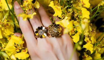 S1x1 cadar flower rings