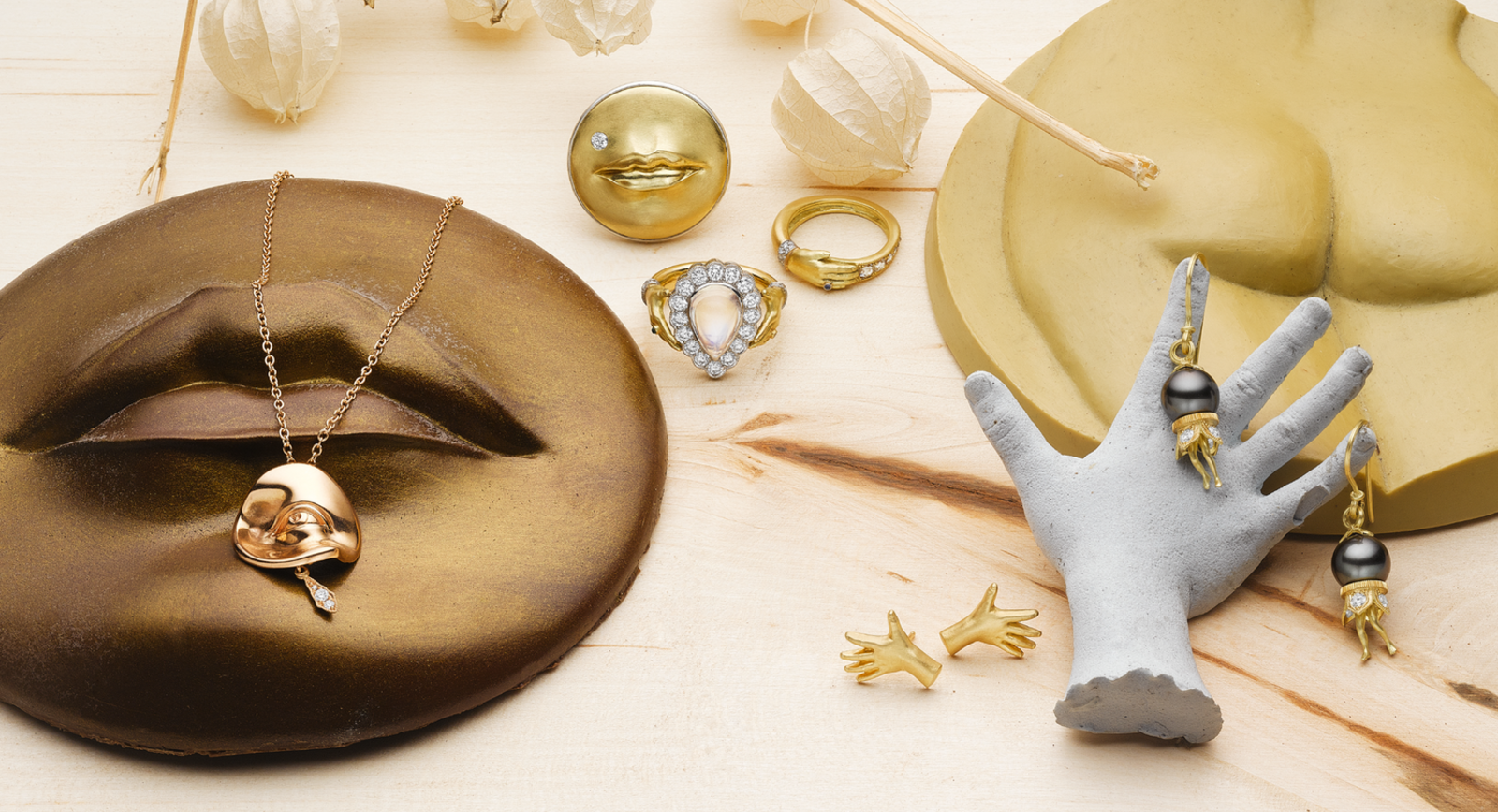 Meet  Anthony Lent – The Master Of Sculptural And Whimsical Jewellery