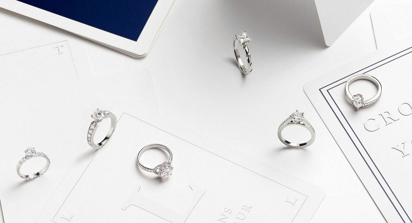 Engagement rings: Bridal jewellery with iconic brand design motifs