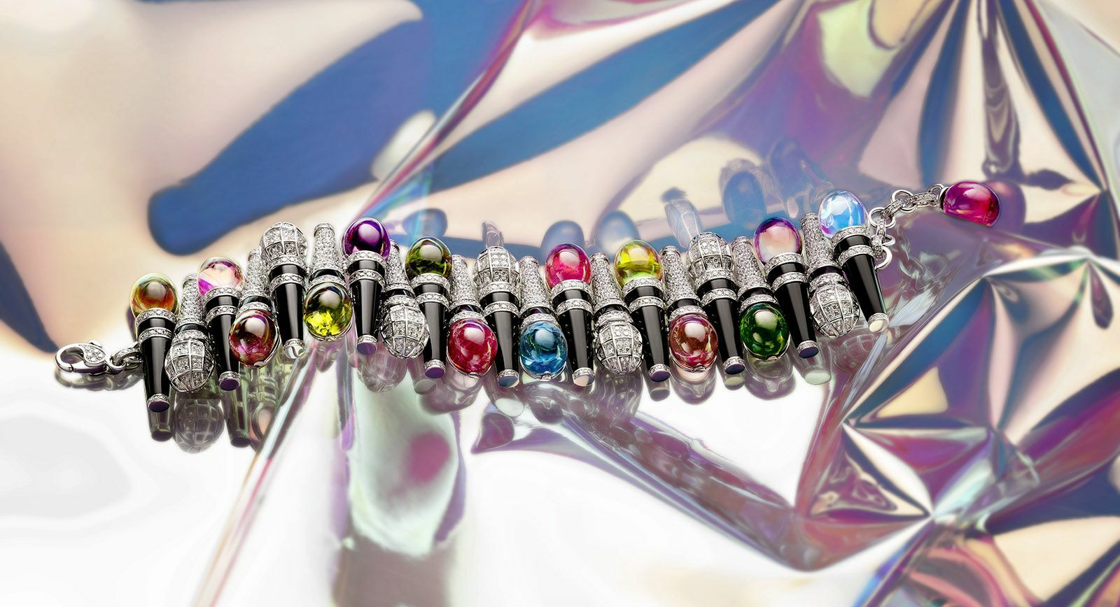 Wild Pop: A fine jewellery interpretation of the 'wild' 80s by Bvlgari