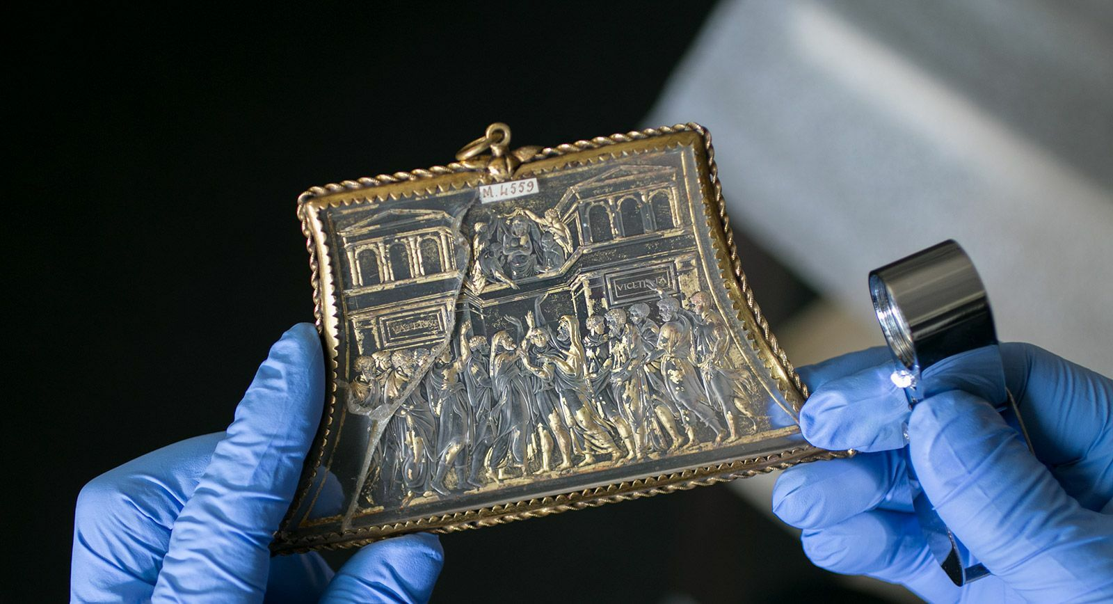 Intaglio from the collection of the National Library of France
