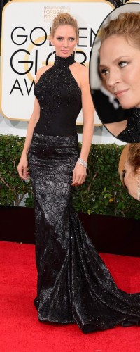 Uma Thurman in Chopard diamonds