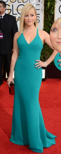 Reece Witherspoon in classic Harry Winston jewels
