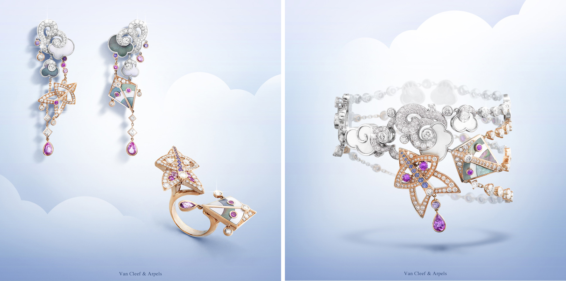 Cerfs-Volants collection by Van Cleef&Arpels