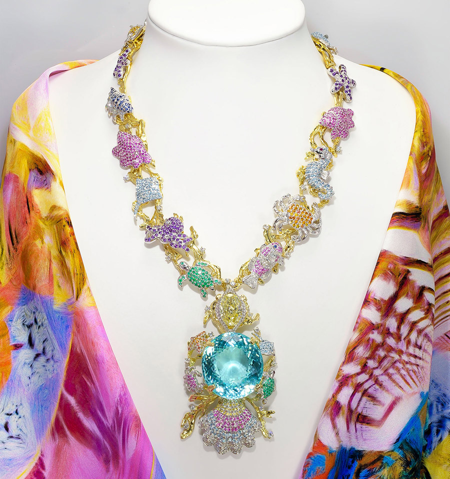 Kaufmann_Ethereal Carolina Divine Paraiba_Necklace