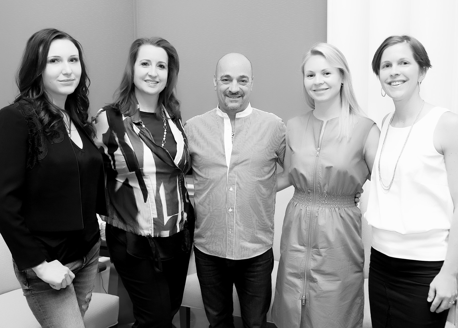 Couture Design Awards Judges: Katerina Perez, Melissa Geiser, Yossi Harari, Daisy Shaw and Julie Thom