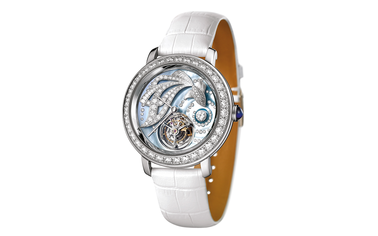 Boucheron Epure Tourbillon Ama watch