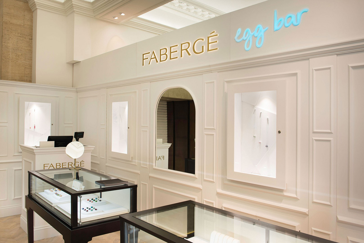 Fabergé at Harrods