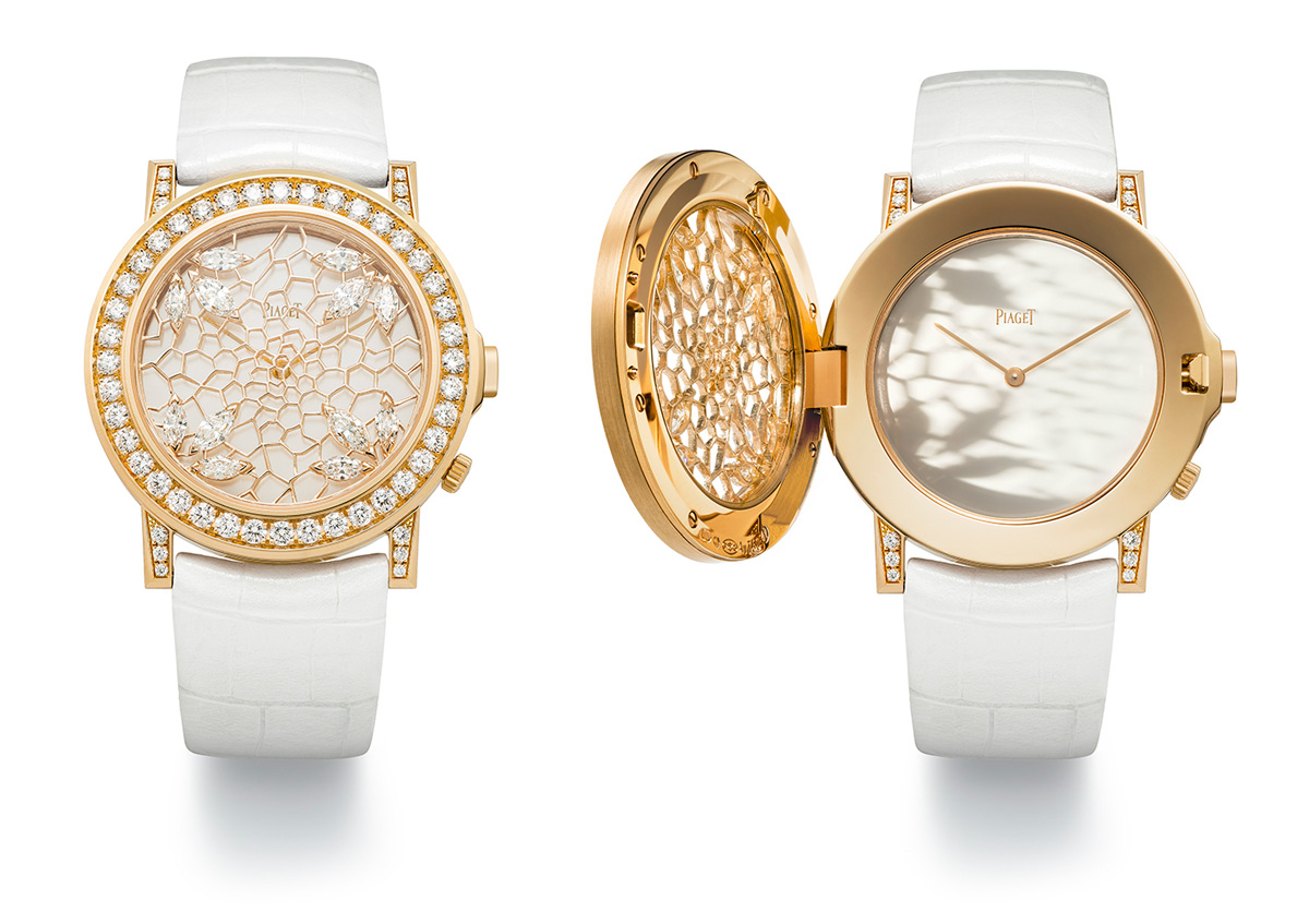 Piaget Altiplano Double Jeu Gold Lacework watch