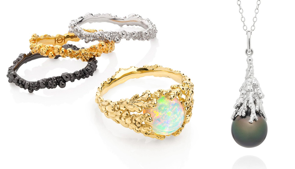 Ornella Iannuzzi rings from Les Corallines collection