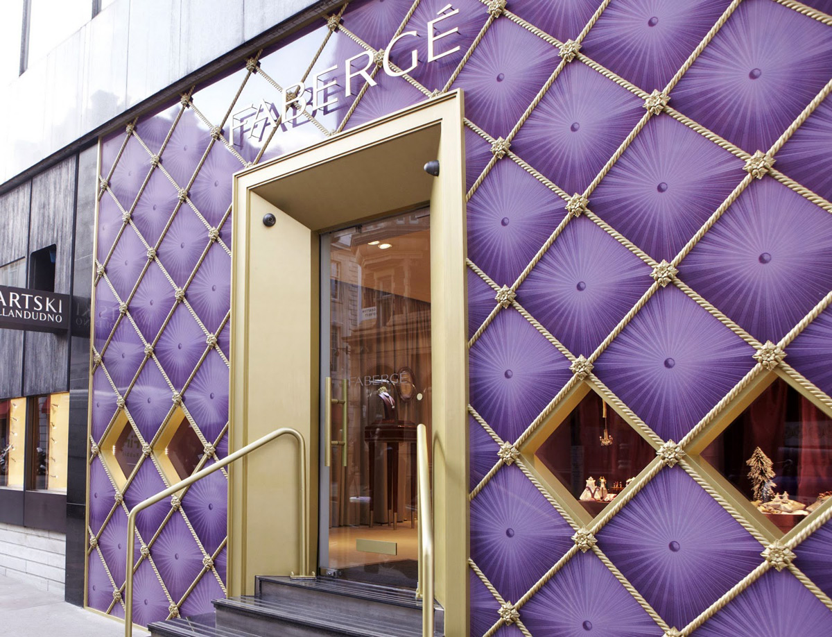 Fabergé current boutique in London