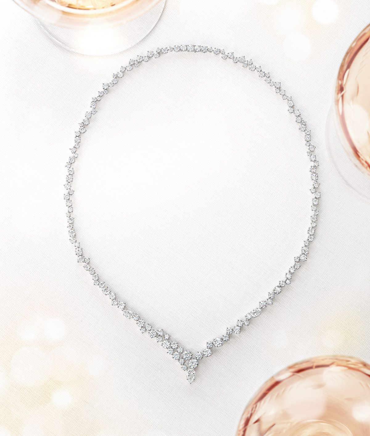 The Sparkling Cluster Collection by Harry Winston