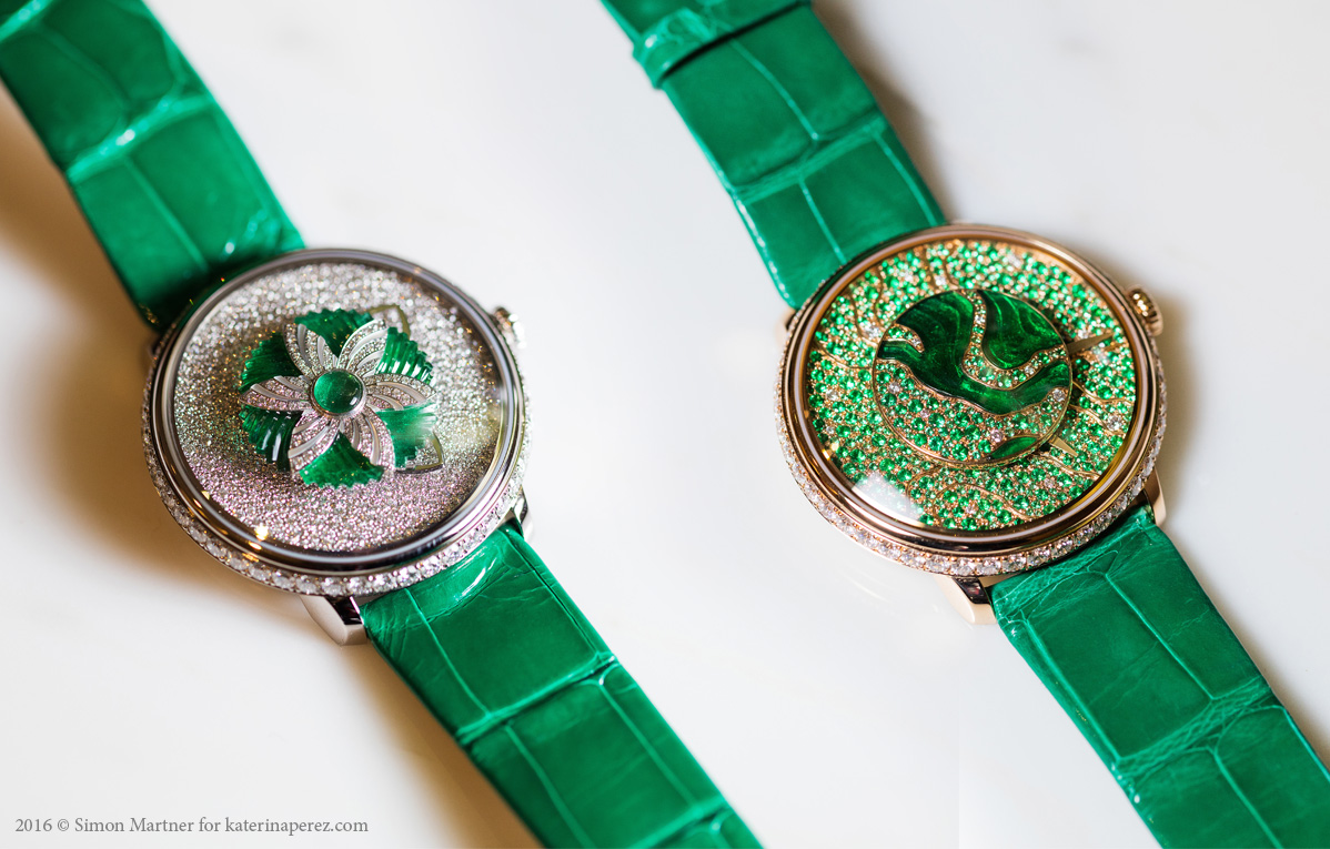 Dalliance collection Fabergé Lady Libertine I & II timepieces