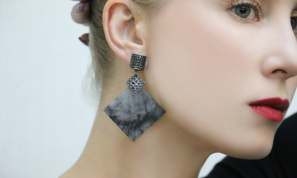 Baer Jewels earrings available at PLUKKA