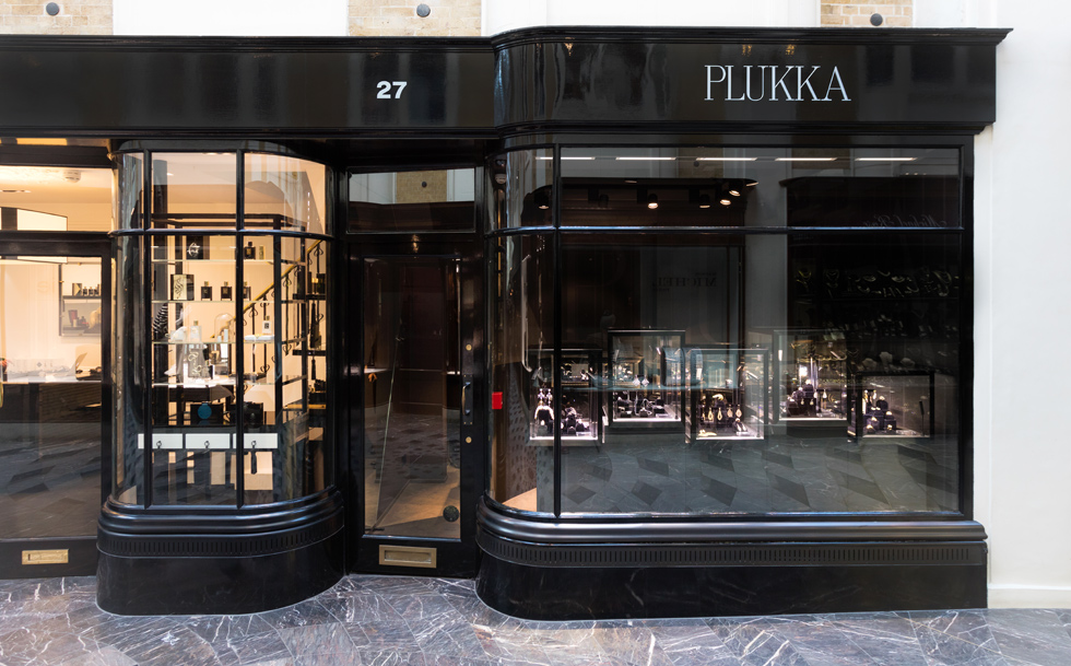 PLUKKA boutique in Burlington Arcade
