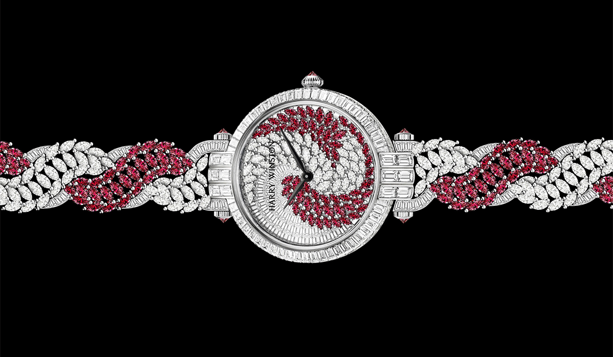 The Twist Automatic by Harry Winston