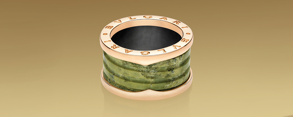 Men's rings by Bulgari
