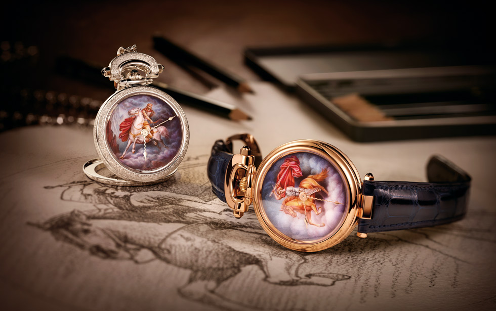 Jewellery designer Ilgiz F. and watchmakers Bovet 1822