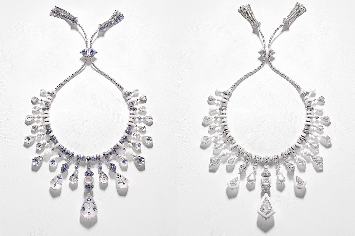 Boucheron's Bleu De Jodhpur necklace