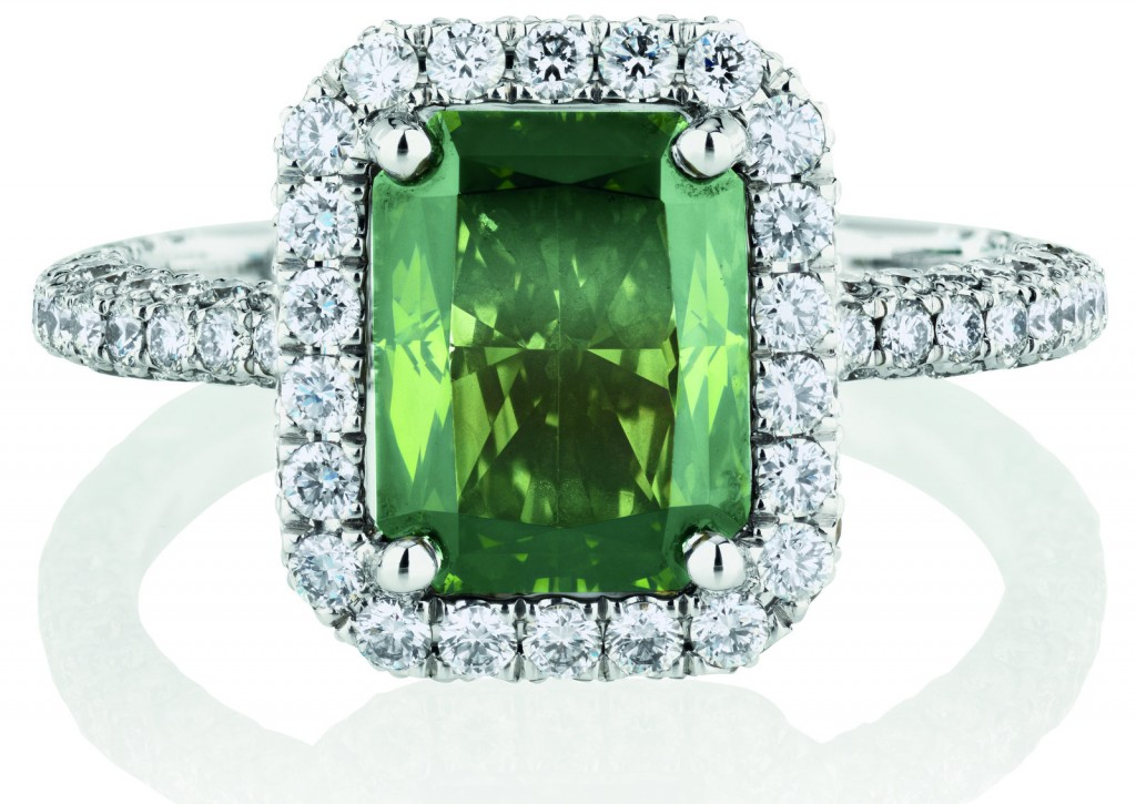 De Beers Chameleon Diamond Ring