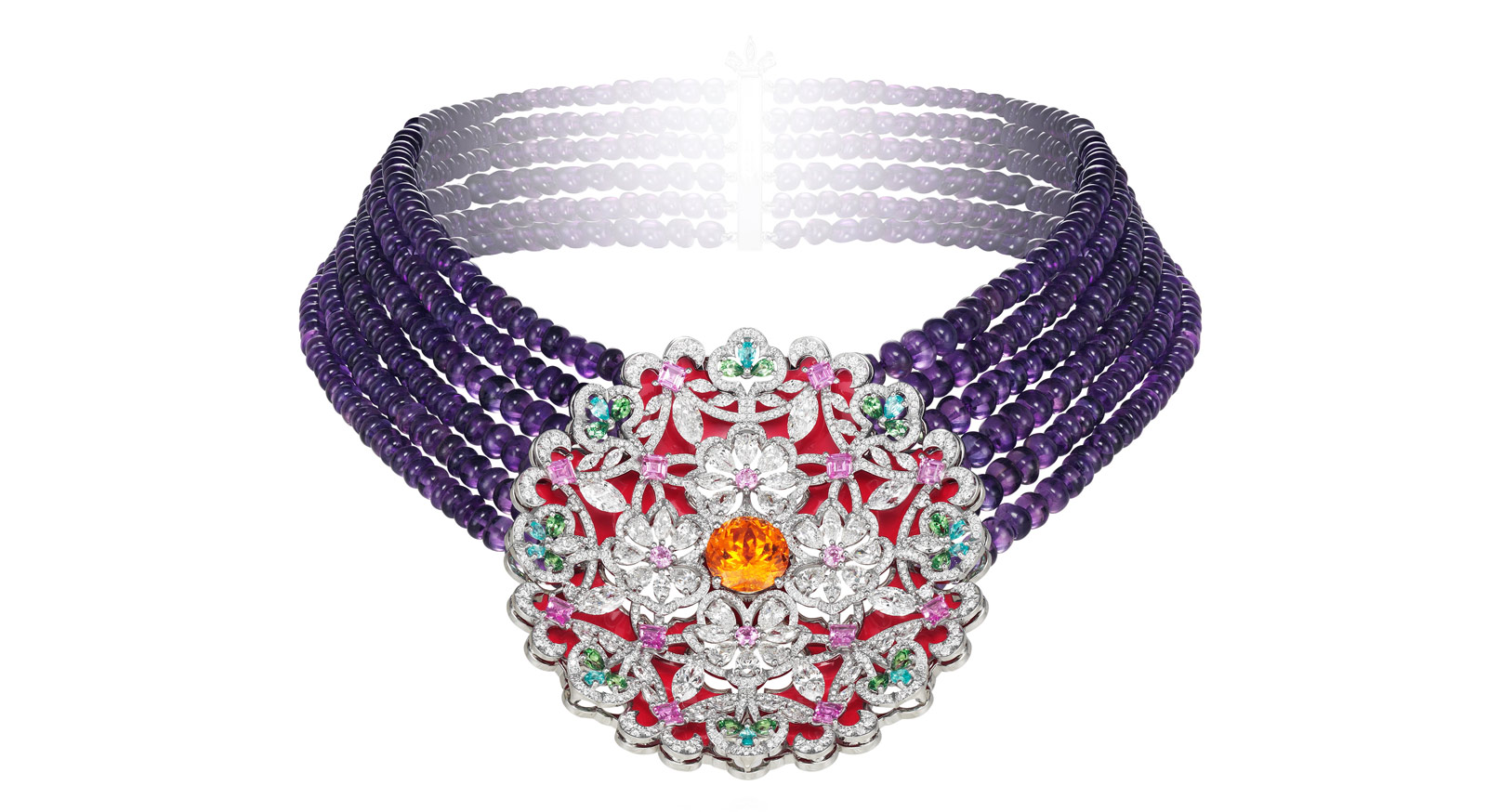 Silk Road necklace by Chopard created in collaboration with Guo Pei