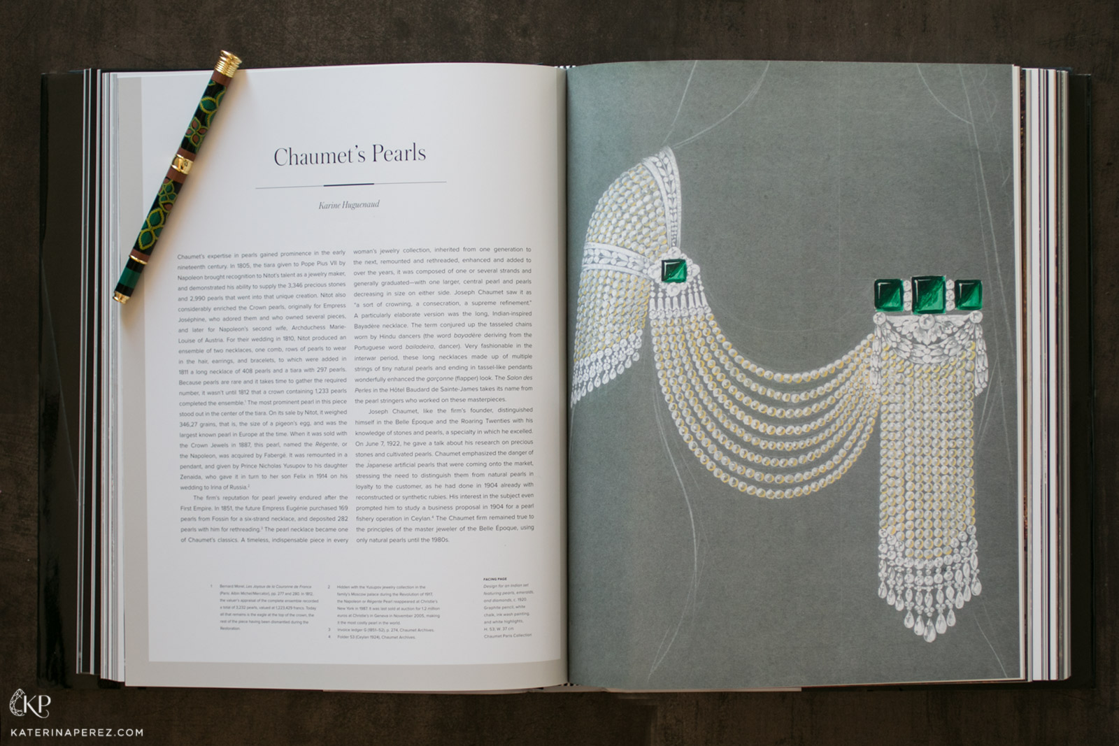 """Chaumet: Parisian Jeweller since 1780"" book"