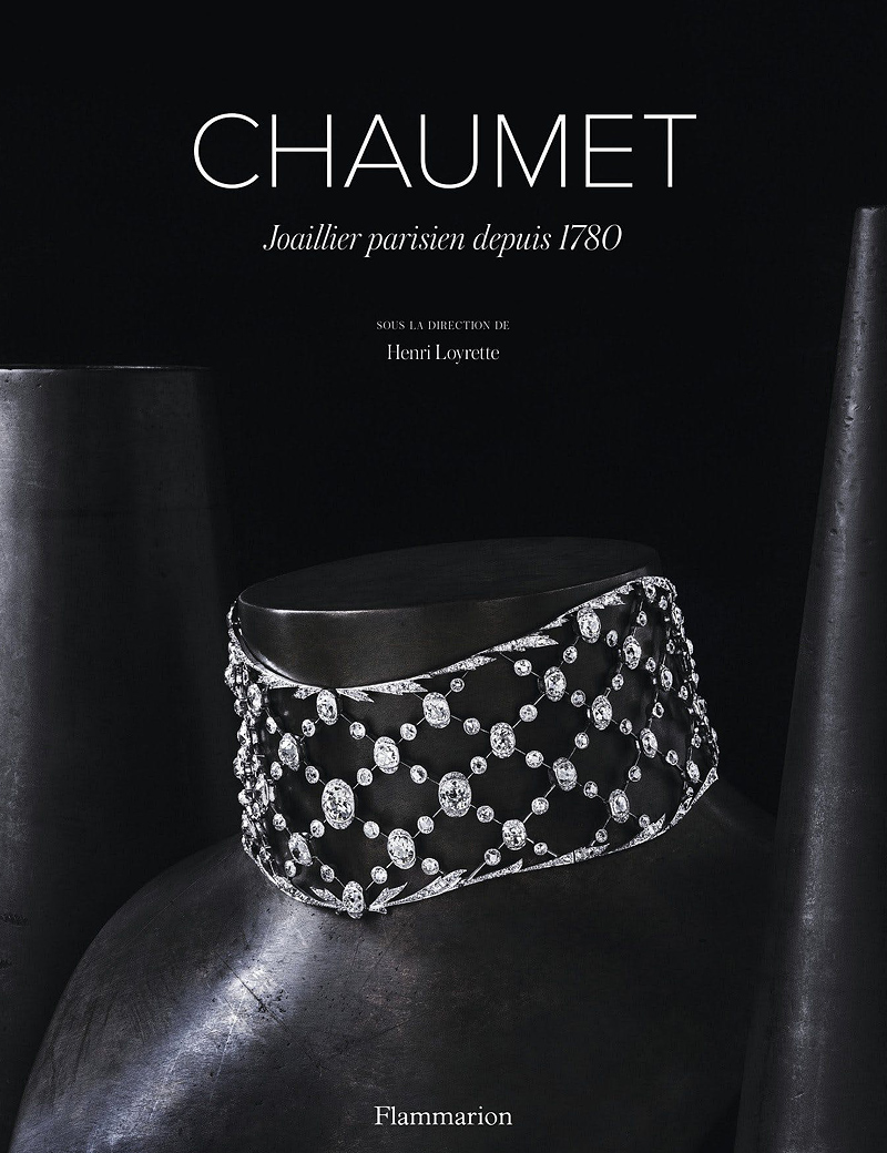 """Chaumet: Parisian Jeweller since 1780"" book cover"