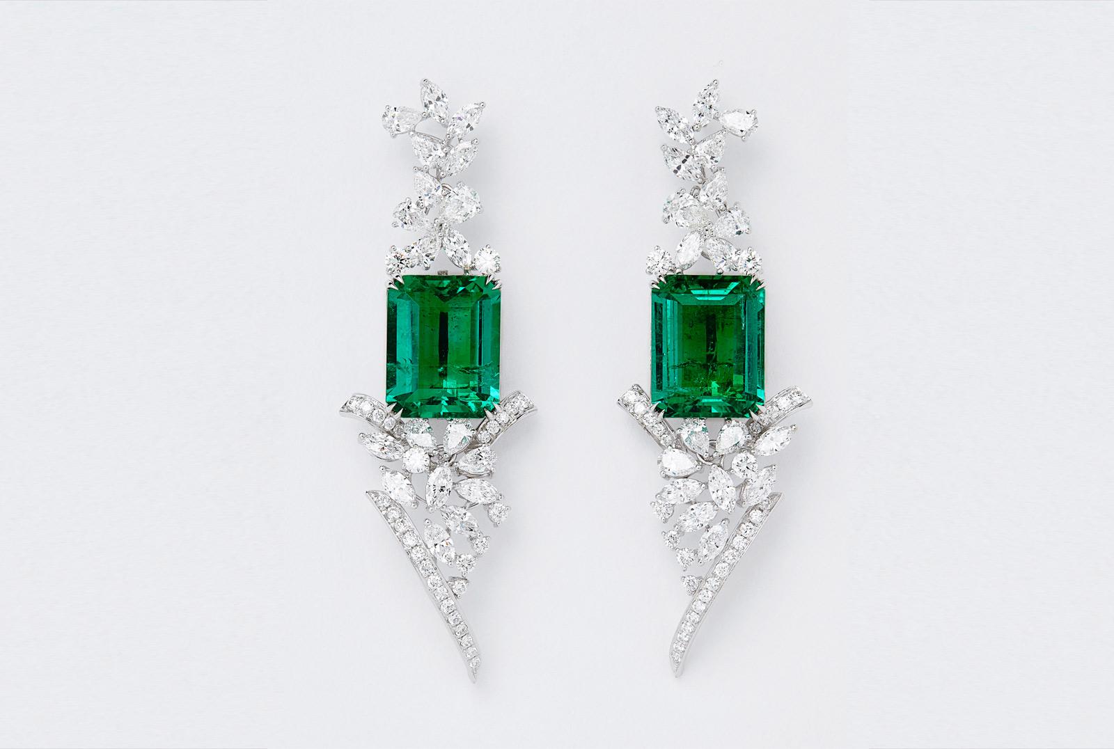 Shanghai Shanghai Diamond And Colombian Emerald Fine