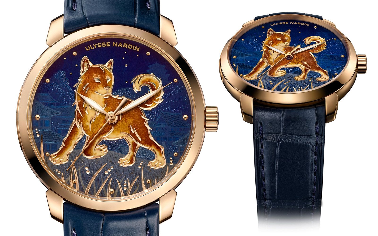 Часы Ulysse Nardin Classico Year of the Dog