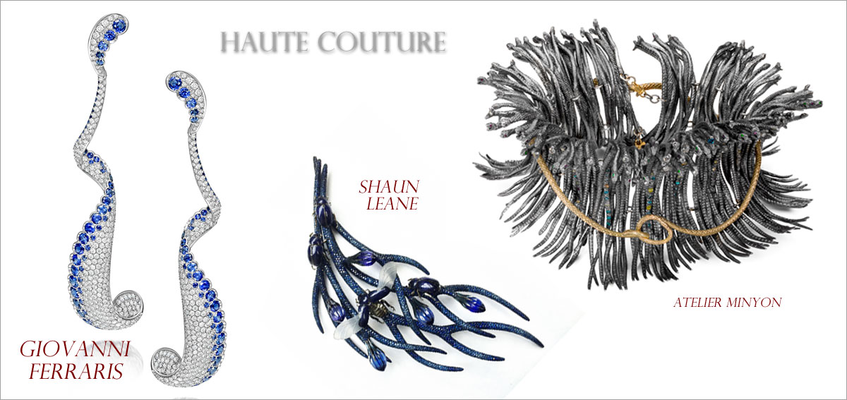 Haute Couture // Winner: Giovanni Ferraris, First runner-up: Shaun Leane, Second runner-up: Atelier Minyon