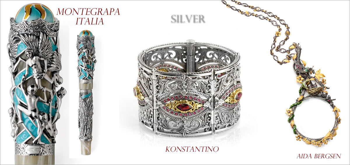 Silver // Winner: Montegrapa Italia, First runner-up: Konstantino, Second runner-up: Aida Bergsen