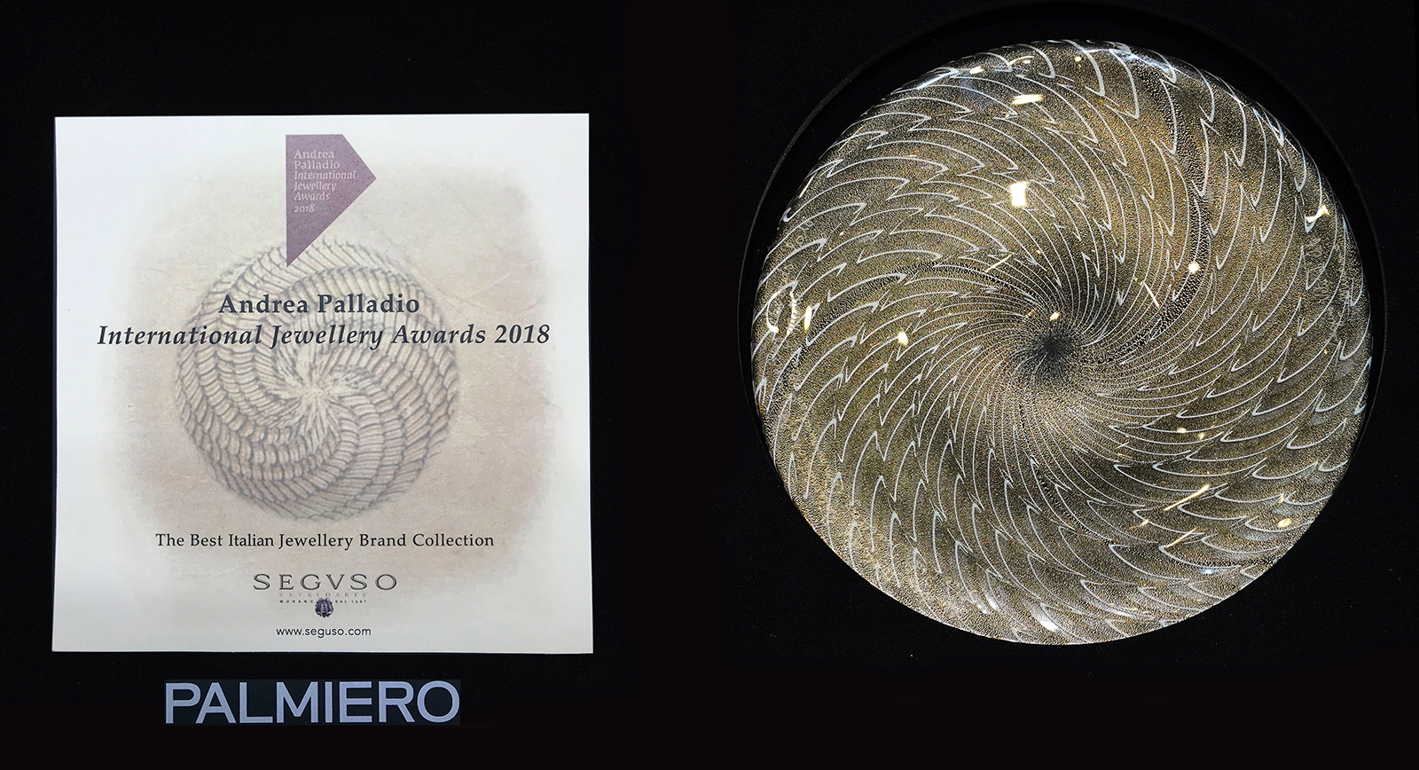 Palmiero wins Andrea Palladio International Jewellery Awards for Best Collection
