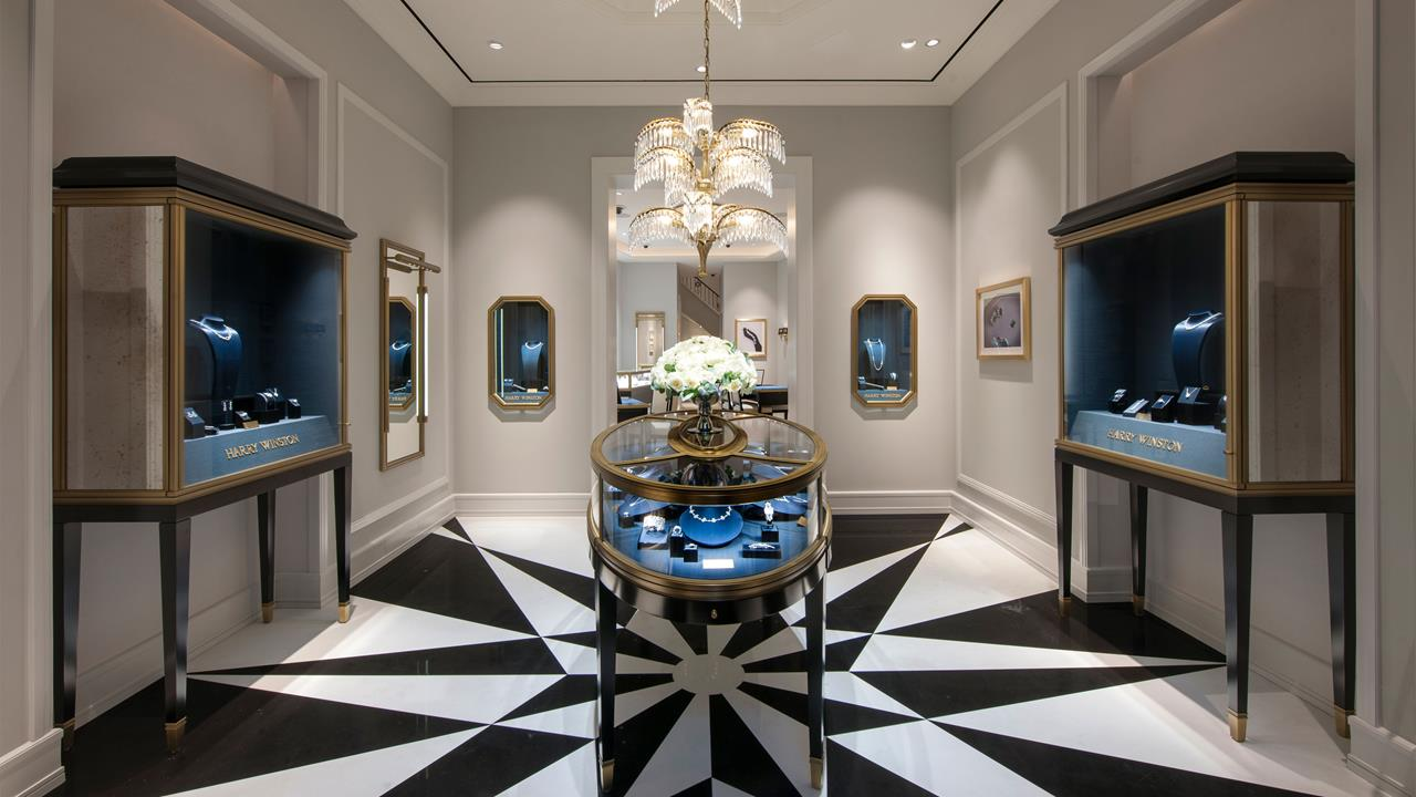 New Bond Street Harry Winston Boutique