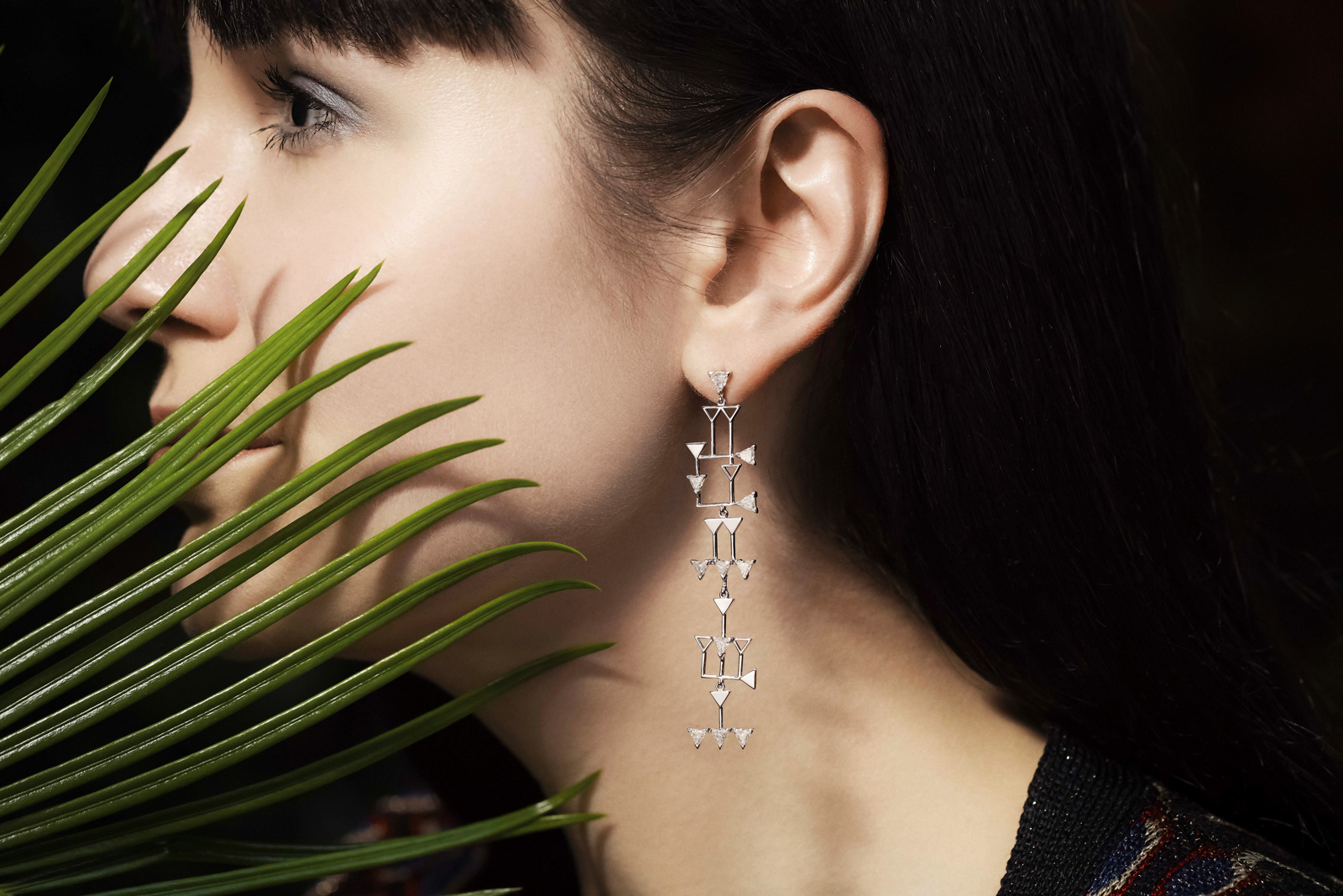 Julien Riad Sahyoun 'Babylon' collection earring. Photo: Simon Martner for katerinaperez.com