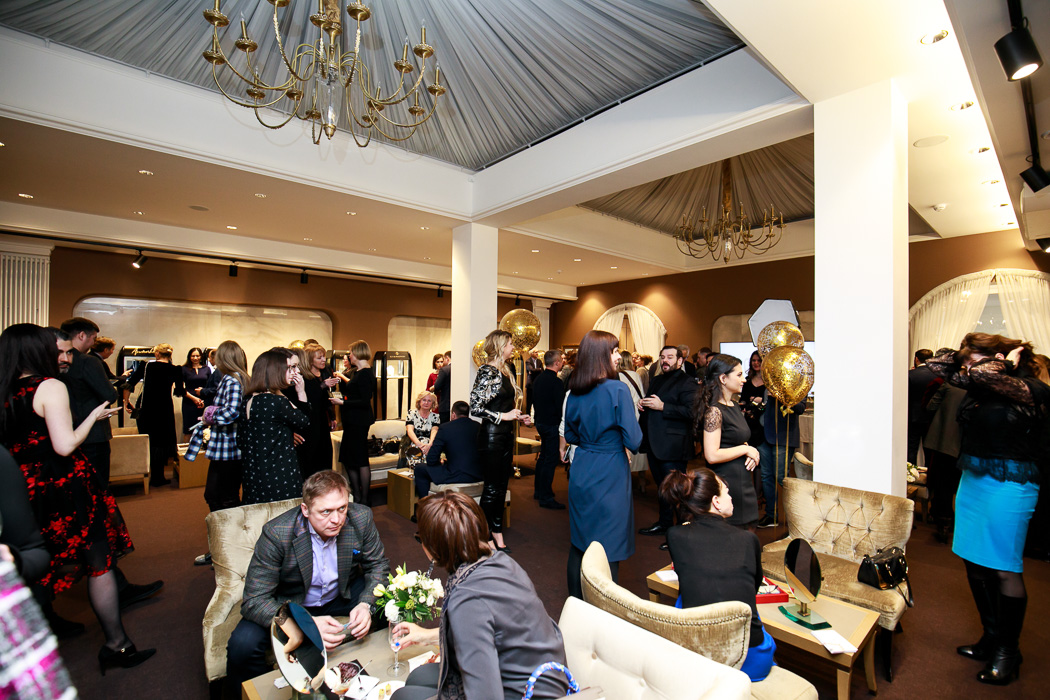 Gold Union trunk show in Saint Petersburg