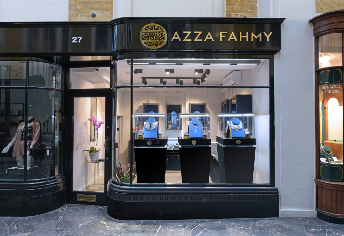 Azza Fahmy boutique in Burlington Arcade