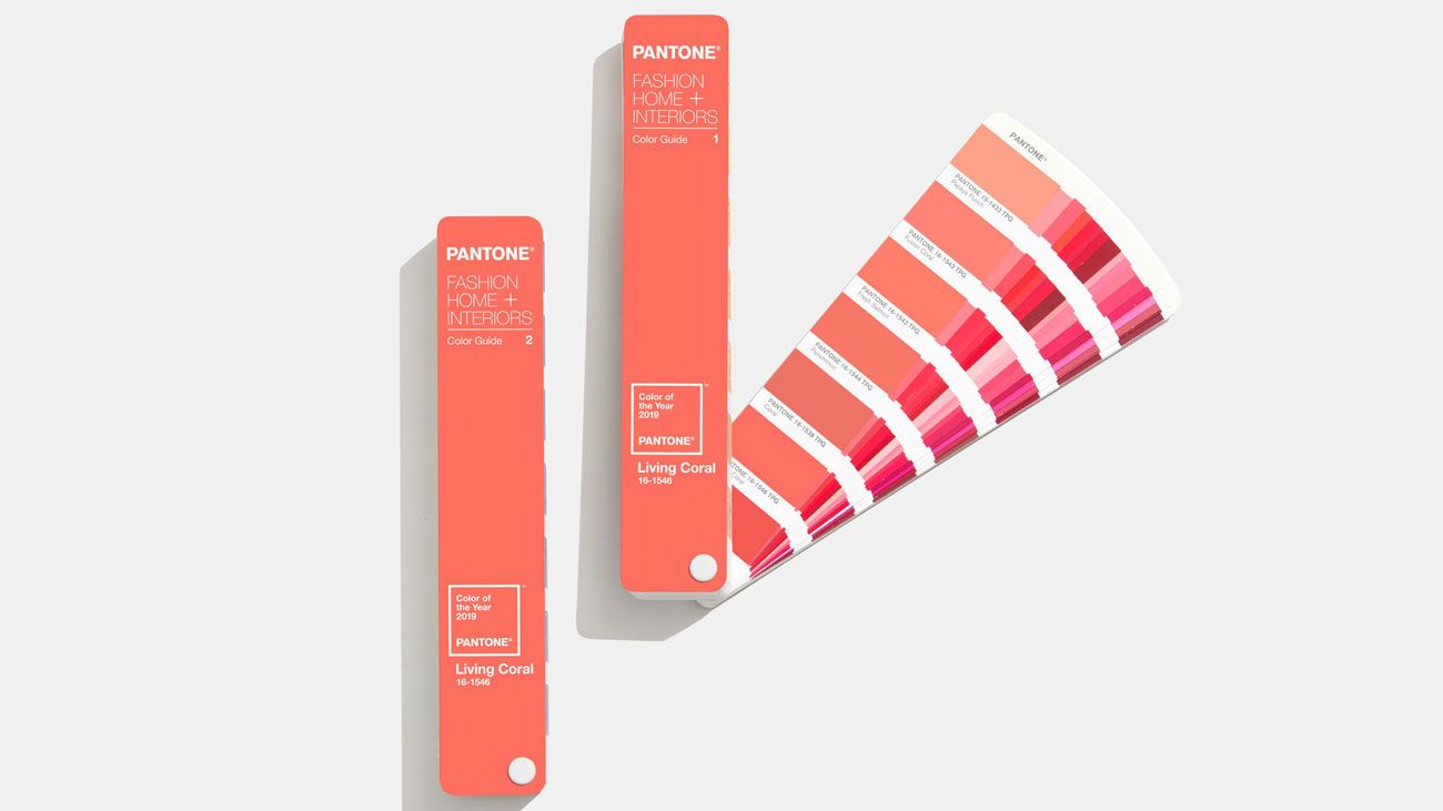Living Coral colour by Pantone