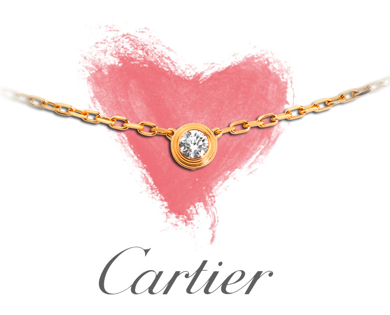 Cartier diamond pendant