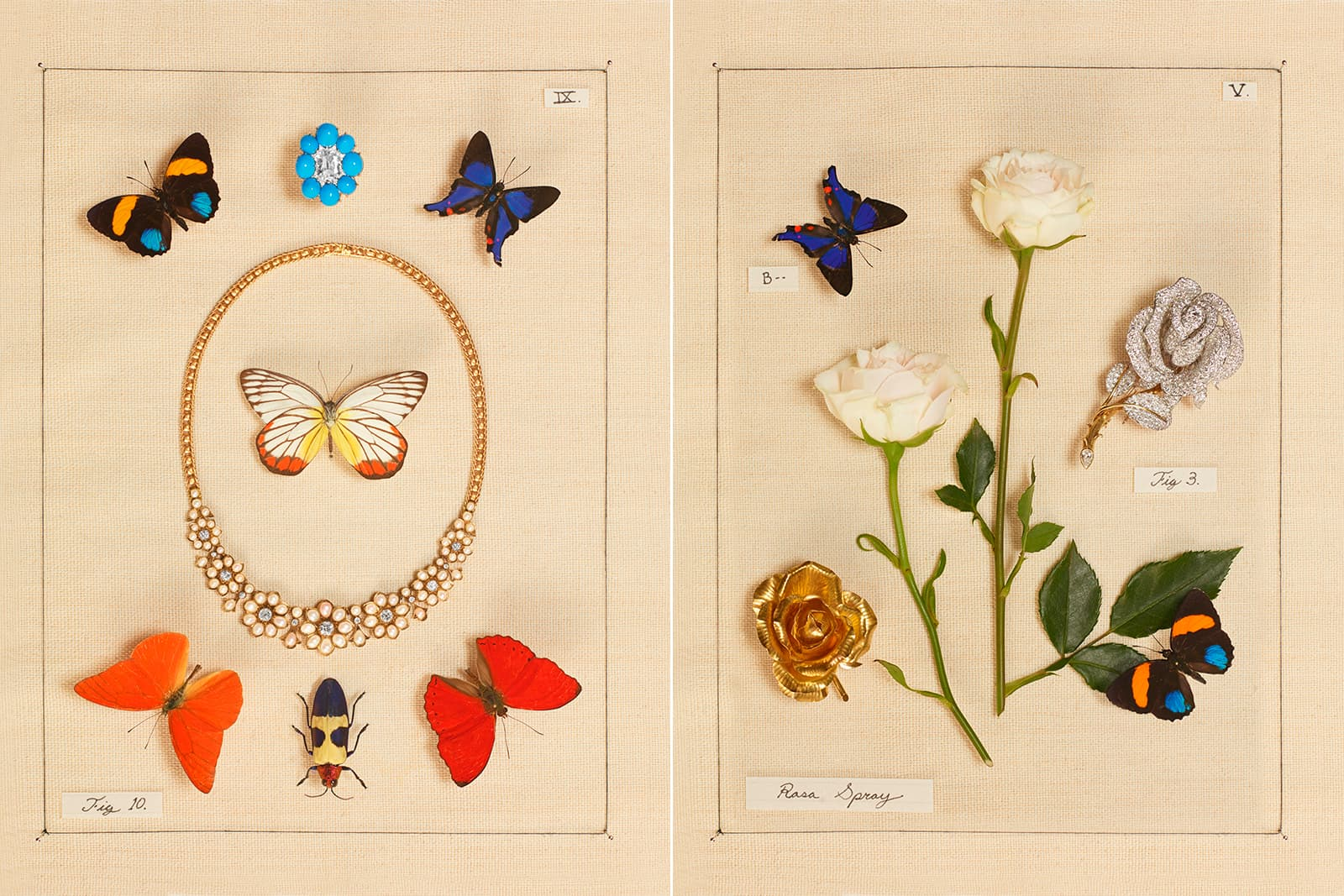 A selection of fine jewellery from the Sotheby's in Bloom collection