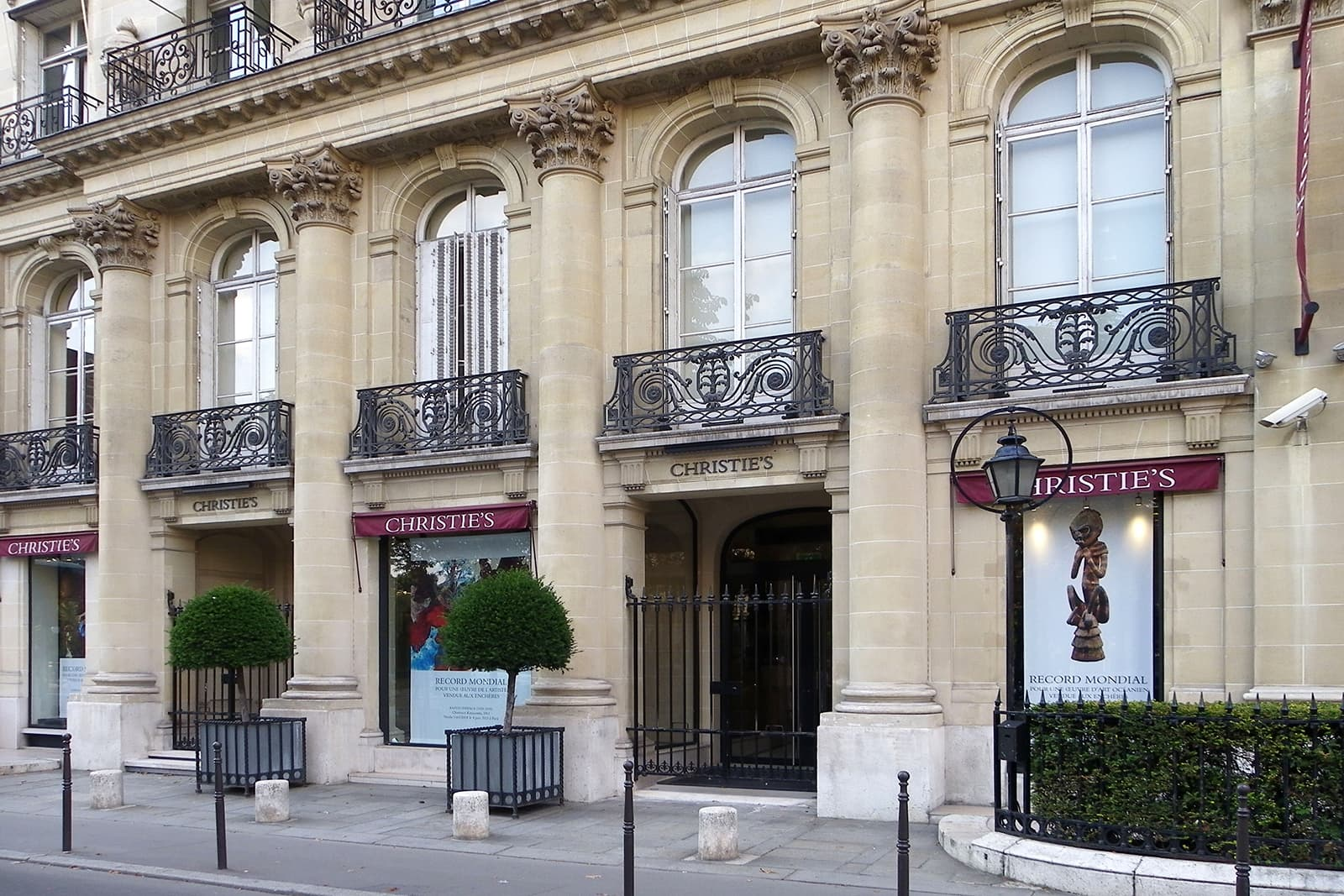 Christie's Paris, location of the Vanity Affair exhibition from 11th to 16th September