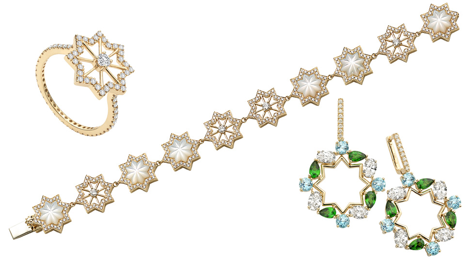 Octium Alandalus Night collection jewellery