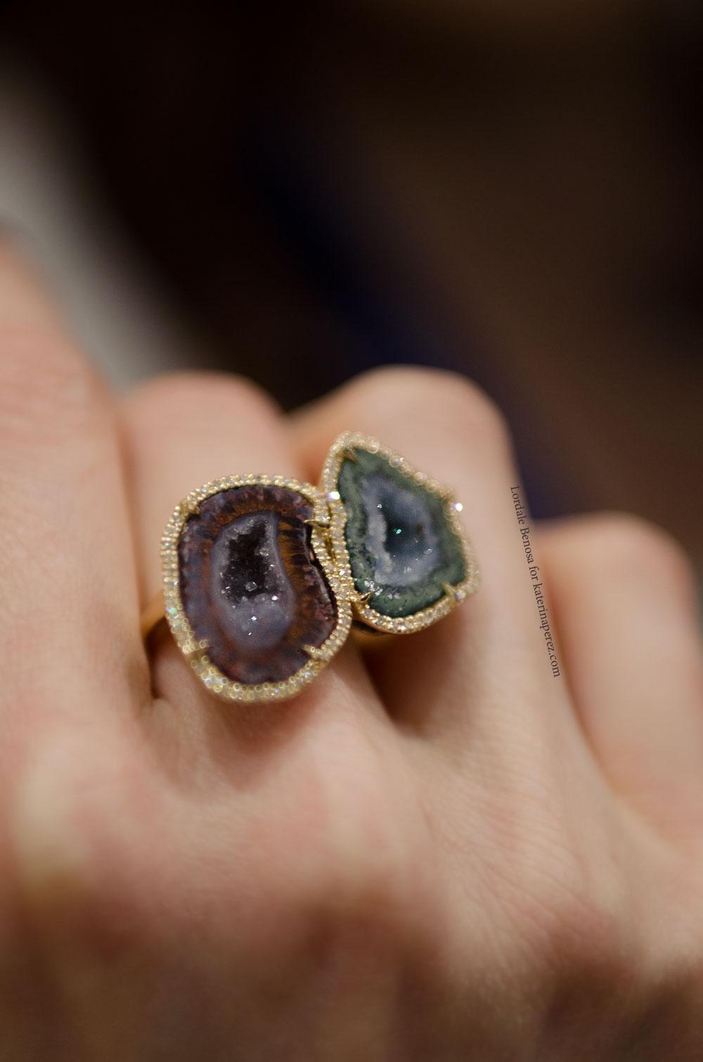 Украшения с крупными камнями фото