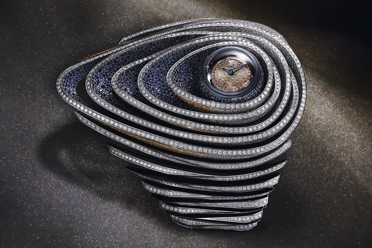 Высокоювелирные часы Audemars Piguet 'Sapphire Oribe' с сапфирами и бриллиантами