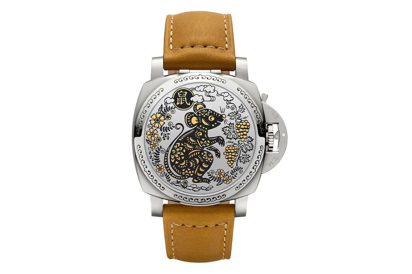 Часы Panerai Luminor Sealand из желтого золота и нержавеющей стали