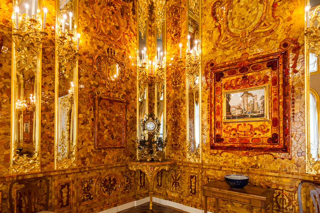 Catherine the Great's Amber room