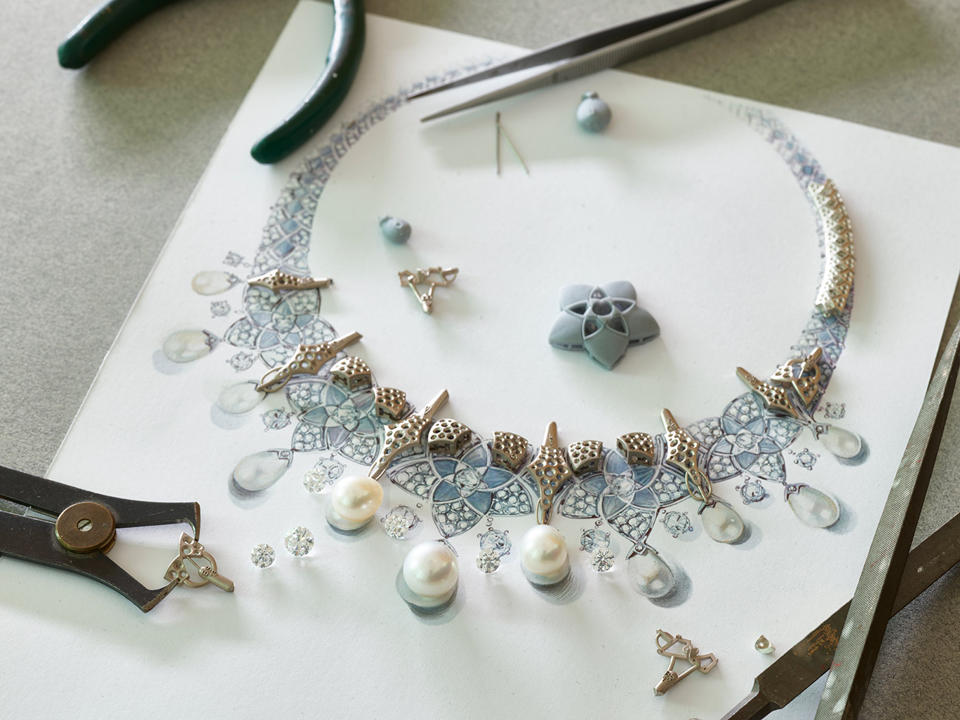 The making of the Bvlgari Jannah collection