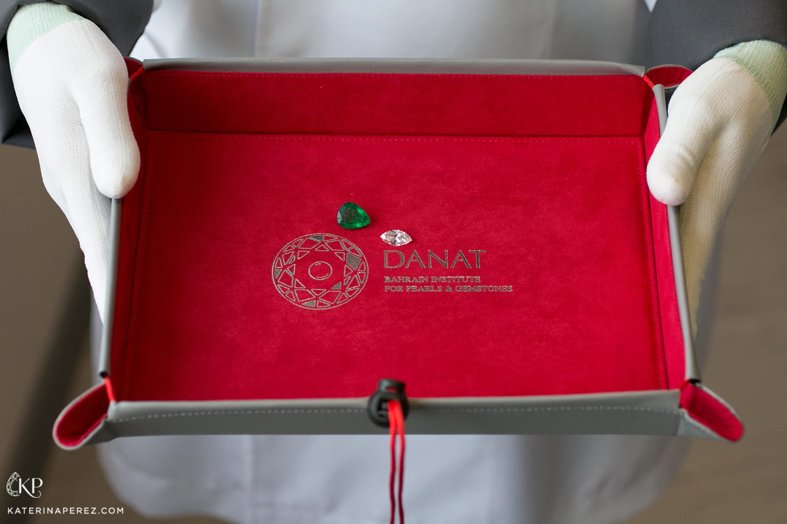 Diamond and emerald tested at DANAT Institute