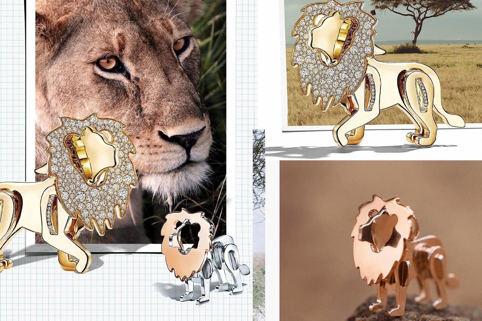 Tiffany & Co. launched the Save the Wild collection in 2017, with 100% of profits donated to the Wildlife Conservation Network